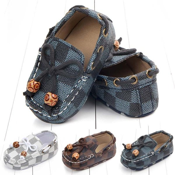 hello_child / Fashion kids Shoes newborn baby boy shoes infant baby boy designer shoes baby designer shoe Moccasins Soft First Walker Infant shoe A2460