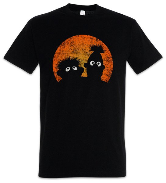 E & B PUPPETS T-SHIRT Logo Ernie Movie TV and und Series und Puppen Bert Funny free shipping Unisex Casual Tshirt top