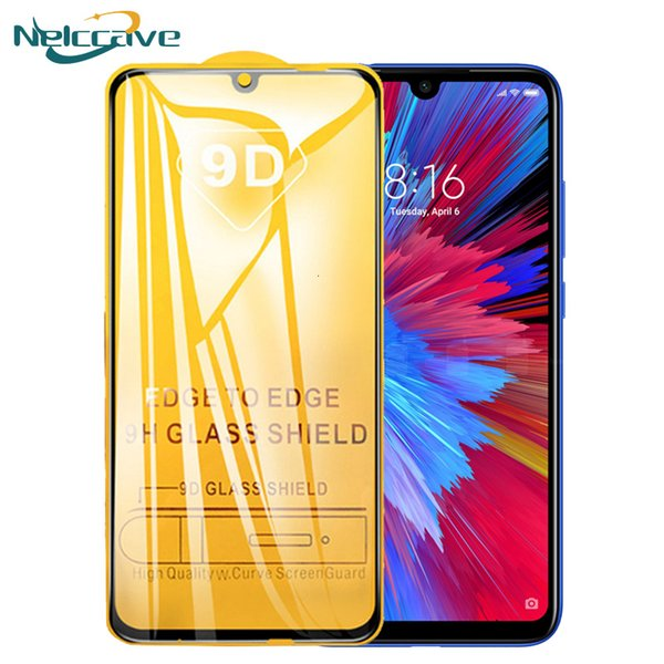 Temperado protetor de tela de vidro para Xiaomi A3 Lite Mi A2 A1 5x 6x Mi nota 7 play 3 telemóvel filme F1 F2
