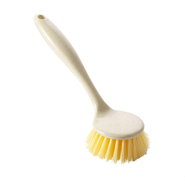 Cleaning brush household cleaning brushes clean tool PP material 24cm*6cm table bowel pot white color high strength quality hook durable