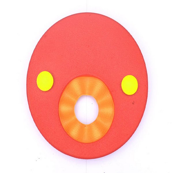top popular Hot 6Pcs set Soft Swim Discs Foam Arm Bands Swimming EVA Float Trainer for Kids children swimming assistance Pool Accessories 2019