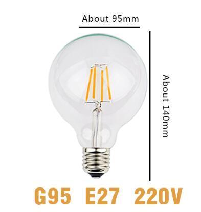 G95 전구 E27 220V