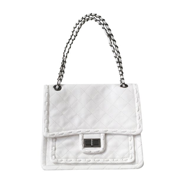 Designer Luxury Shoulder Bag Chain Bags New Hand-held Messenger Women's Bag with High Quality Woven Shoulder Bags Fashion Pure Color