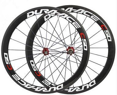 700C carbon bike clincher wheels basalt brake surface road bicycle wheelset 50mm ceramic hub