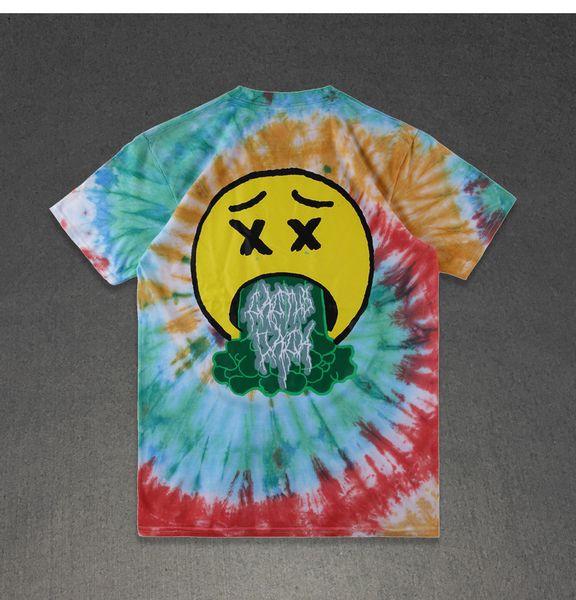 Mens-Sommer-Designer-T-Shirt gedruckt Travis Scott Astroworld SICKO Mode Rundhals Kurzarm-T-Shirt Homme Kleidung
