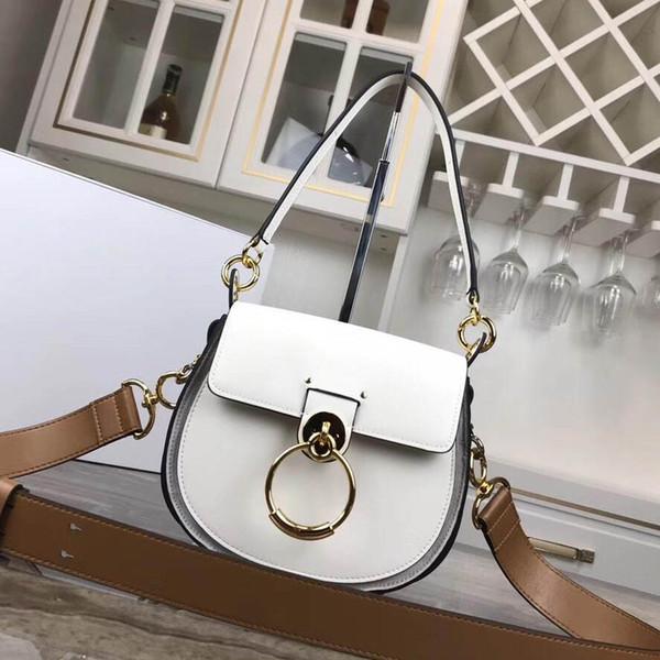 Borsa a tracolla di lusso firmata 2019 nuova borsa a tracolla da donna in pelle accessori moda in metallo borsa a tracolla1565081844667