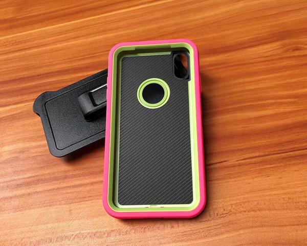 Pour Iphone XS Max XR X 8 7 Plus Defender de haute qualité avec clip de ceinture