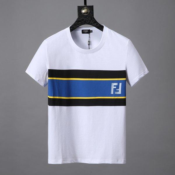 9de901b27 19ss Luxury t-shirt Fashion mens designer tshirts luxury brand F Letter  printing couple short