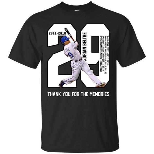 Vielen Dank für die Erinnerungen 29 Adrian Beltre T-Shirt Lustige Adrian Beltre T-Shirt Top