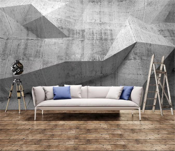 retro nostalgic industrial wind cement wall painting wall hd superior interior decorations wallpaper