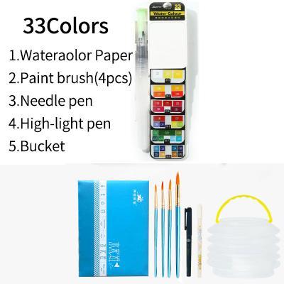 33 Colors set