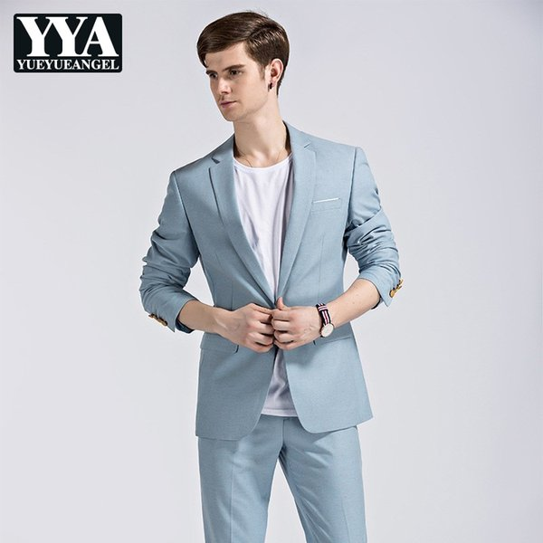 Compre 2019 Nuevos Trajes Para Hombre Chaqueta Chaleco Pantalones Traje De Boda Para Hombre Conjunto De Tres Piezas Slim Fit Trajes De Vestir Para