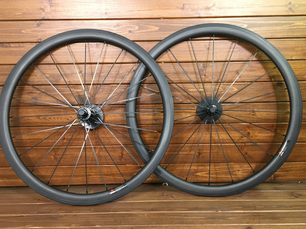 2019 Özel boyama 38mm-25mm genişlik U şekli UD mat finish karbon yol bisikleti jantlar tekerlek Novatec 291 hub XDB DPD nakliye