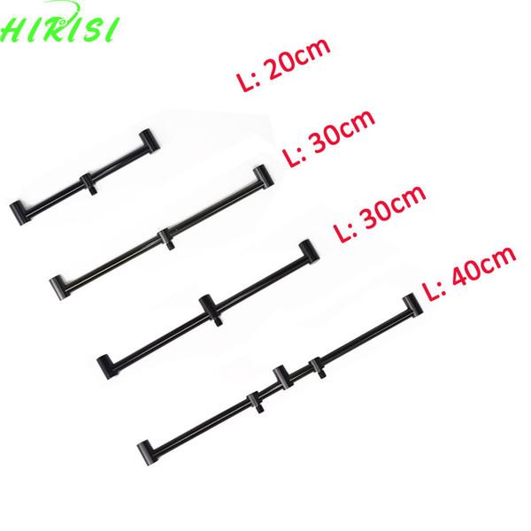 2Pcs 20cm, 30cm 40cm Aluminum alloy Carp Fishing buzz bars fishing rod pod holder buzzer bar