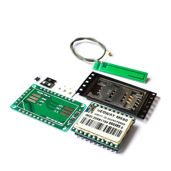 Freeshipping 10PCS/LOT DIY KIT GSM GPRS M590 gsm module Short Message Service SMS module for project remote sensing alarm