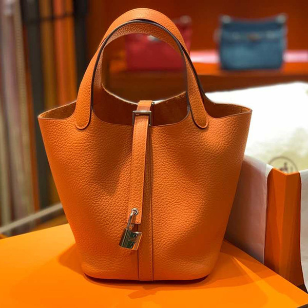18cm 22cm famou brand women luxury de igner handbag pur e fa hion genuine leather ladie tote bag bu ine notebook houlder bag