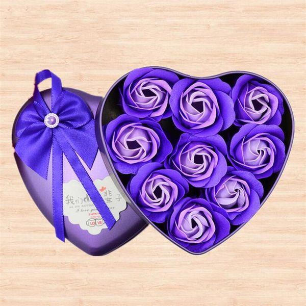 9 Stück lila