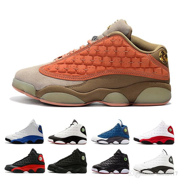 2019 Basketball Shoes 13s Mens Atmosphere Grey Clot Melo Class of 2002 He Got Game Black Cat Playoff Flint DMP trainers Sports Sneakers