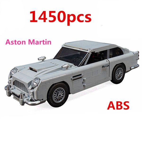En Technic Series Stock 10262 Aston Martin DB5 Set Briques Blocs de construction Enfants Model Car Cadeaux Jouets Compatible