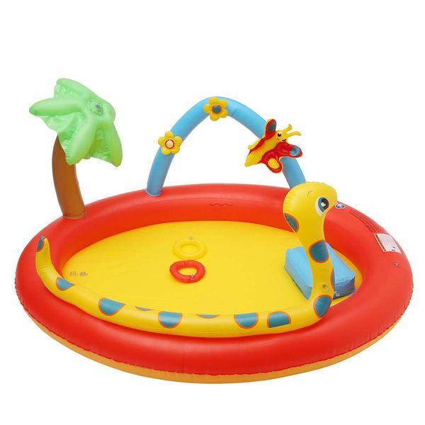 Bambini gonfiabili della piscina dei bambini all'aperto sicuro dell'acqua giocano il bambino gonfiabile sveglio del gioco del bambino dello stagno del bagno del bambino infantile