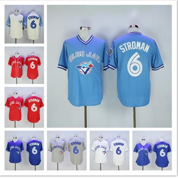 meet d3725 2e763 2019 Mens Womens Toronto Custom Blue Jays Jersey Vladimir Guerrero Jr  Marcus Stroman Retro Player Baseball Jerseys From Ylz001, $22.99 |  DHgate.Com