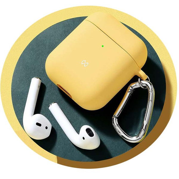 Yellow AirPods 1 2