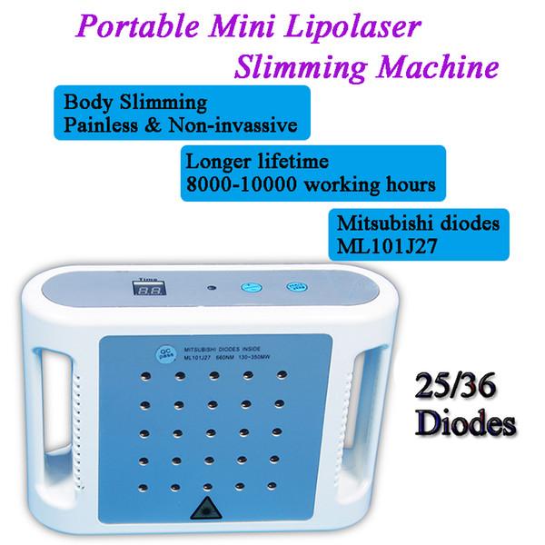 portable lipolaser lipo laser slim arms Laser Slimming Device beauty salon equipment i-lipo machine home use
