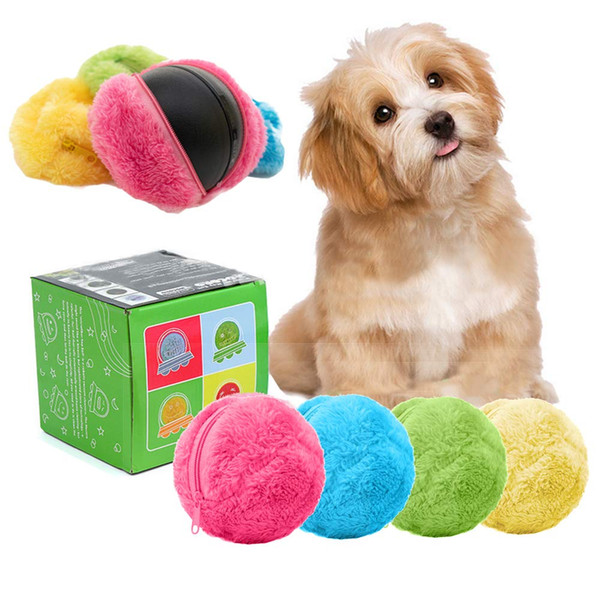 Mocoro Automatic Rolling Ball Sweeping Robot Pet Toys Mini Automatic Vacuum Cleaner Dog Cat Pet Toy Ball Microfiber Mop Ball DEC524