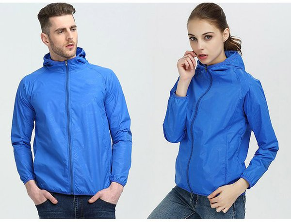 2019 High Quality Long Sleeve New Designer Mens Women Fashion Loose Windbreaker and Natural Colors for Sport Coat with Size S-4XL QSL198269