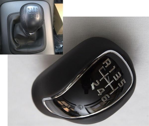 Nuevo cuero negro manual palanca de cambios palanca de cambios palanca de 6 velocidades para kia forte cerato 2012-2016