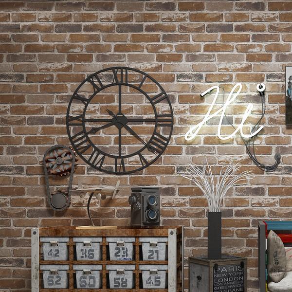 Brick wallpaper 3d Suppliers High Quality 3d brick wallpaper stone wall paper faux brick wallpaper 3d Living Room Sofa wall paper