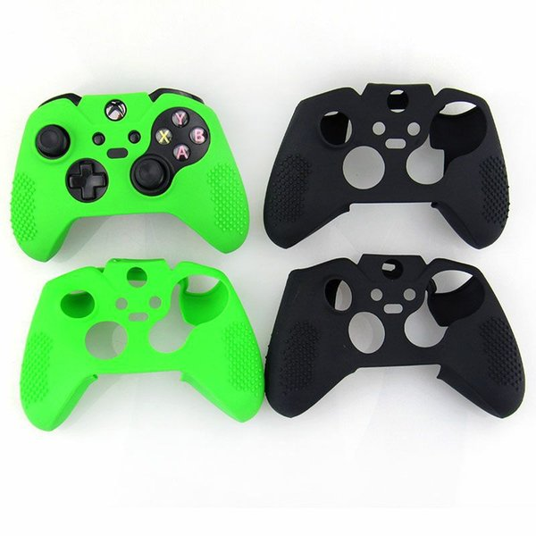 Hot sale Flexible Antislip Silicone Soft guards Skin Protective Case Cover Protector for Xbox One Controller Xbox one Elite free shipping