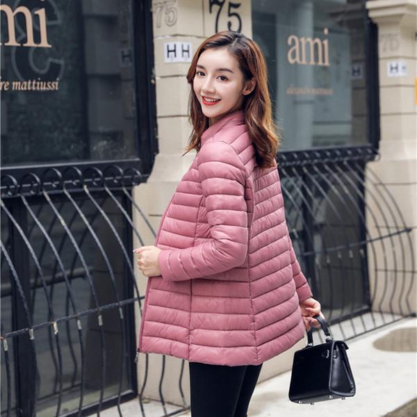 7d5693ec7 Señora Light Down Cotton Length 2018 Winter Women Stall Oferta especial C18