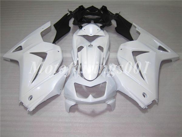 OEM Qualität Neue ABS Spritzguss Verkleidungen Kits Passend für Kawasaki Ninja 250R EX250 ZX250R 08 09 10 11 12 13 14 Karosseriesatz Perlweiß