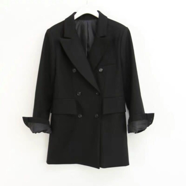 women blazer suit jacket woman korean spring and autumn new british style loose casual women's suit jacket