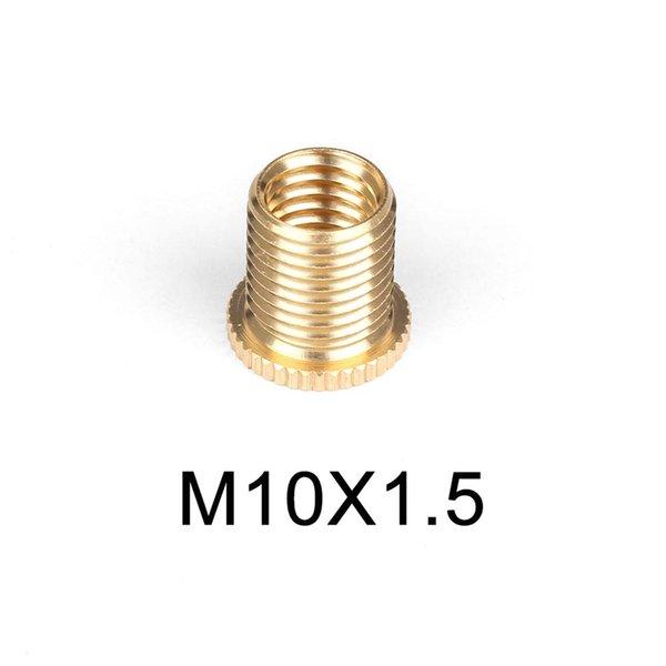 M10x1,25 Kugel-Schaltknauf in Marmorausf/ührung mit Befestigungsadaptern M10x1,5 Universal M8x1,25 Schaltknauf