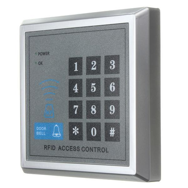 top popular MJPT020 Electric RFID Access Control ID Password Safty Entry System Door Lock Magnetic Set 2021