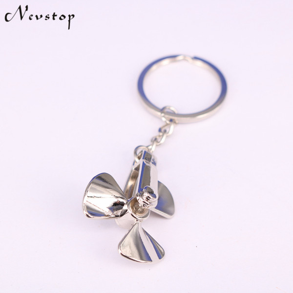 10Pcs Fan Metal Zinc Alloy Keychains Creative Cute Silver Key Chains Holder Purse Bag Gift Keyfob KC62