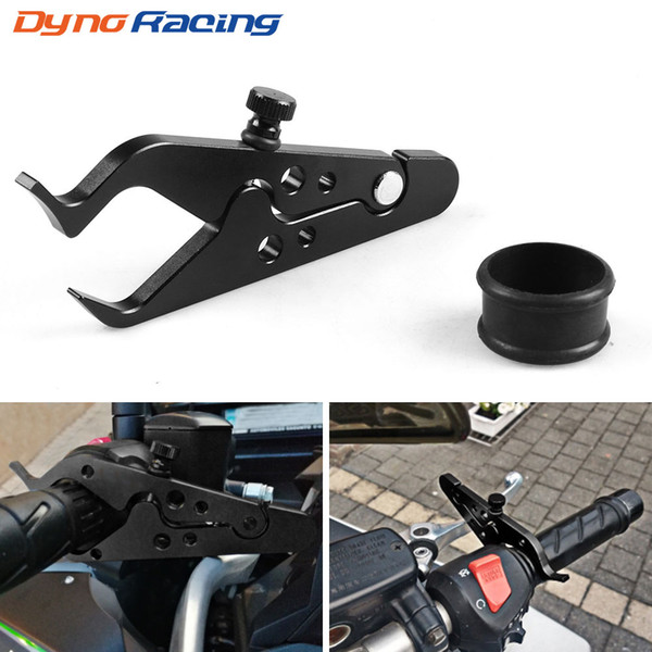 top popular New High Quality Universal CNC Motorcycle Cruise Control Throttle Lock Assist Retainer Relieve Stress Durable Grip Black 2021