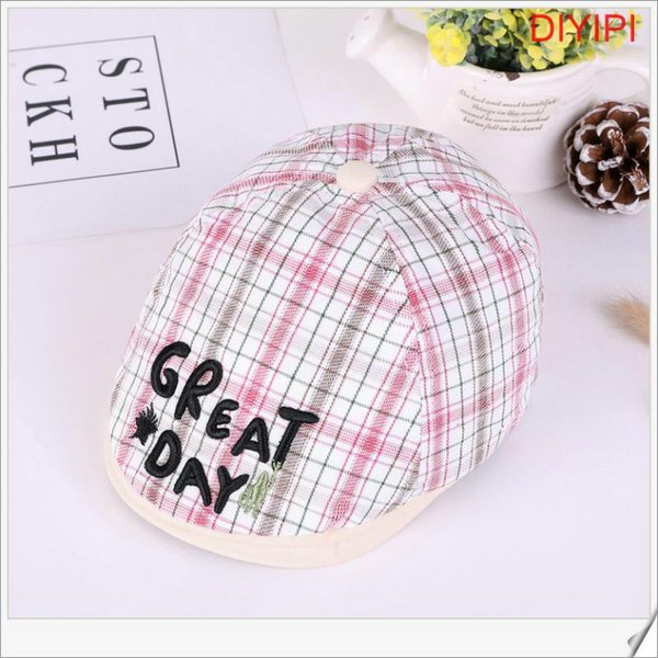 Pink Plaid Plaid Lettered