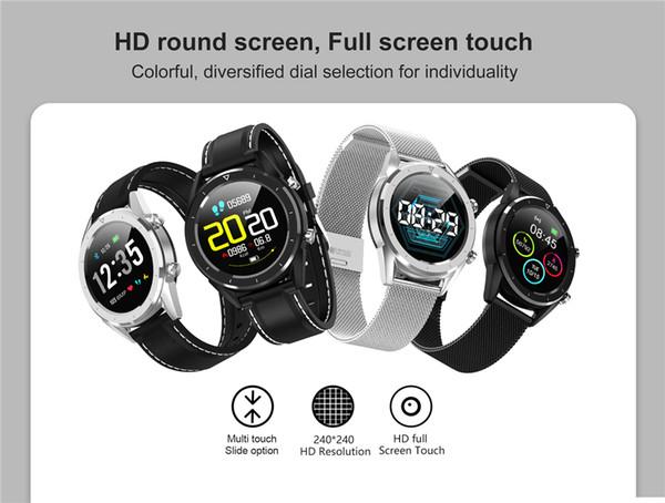 Best Heart Rate Monitor Watch 2020.Dt28 Men Smart Watch Ip68 Waterproof Watch Ecg Heart Rate Monitor Fitness Tracker Wristband Smart Band Sport Wristwatch Best Activity Sleep Tracker