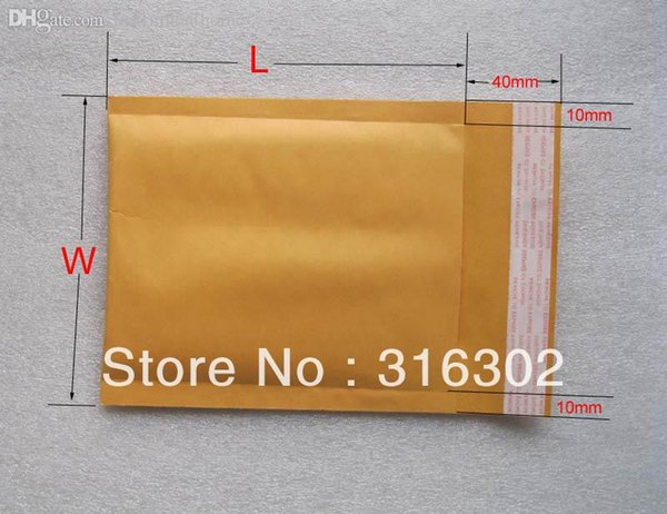 Wholesale-Free Shipping110x130mm Kraft Bubble Envelope, Bubble Envelop,Bubble Mailer,5 pcs extra free for 3 lots,More sizes available