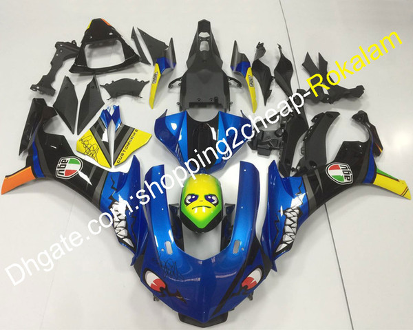 Shark Decals Motorcycle For Yamaha YZF1000 2015 2016 YZF-R1 15 16 YZF R1 YZFR1 Motorbike ABS Plastic Bodywork Fairing (Injection molding)