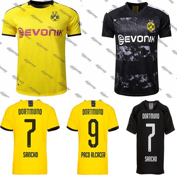 Maglia da calcio BVB Borussia Dortmund 19 20 Maglia da calcio PHILIPP GOTZE REUS PULISIC WITSEL Maglia da calcio PACO ALCACER