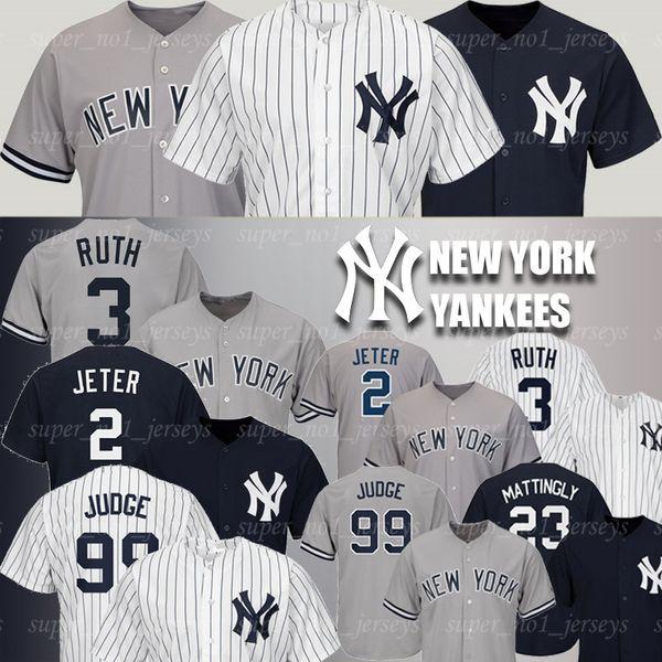 size 40 bda0d 08136 2019 Yankees Jerseys 99 Aaron Judge Jerseys 25 Gleyber Torres Jersey 24  Gary Sanchez Jerseys Babe Ruth Mariano Rivera Don Mattingly Jeter Mantle  From ...