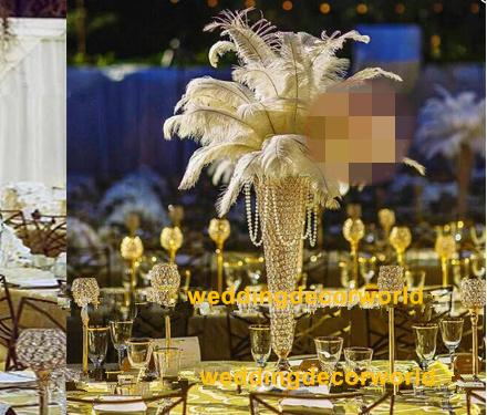 crystal glass candle holder table centerpieces for wedding decor glass candelabra