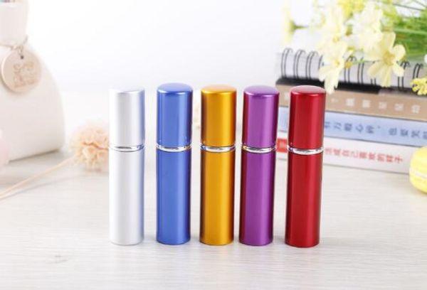 best selling 5ml Mini Portable Refillable Perfume Atomizer Colorful Spray Bottle Empty Perfume Bottles
