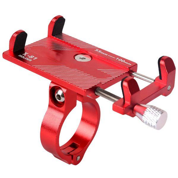GUB G81 G-81 En Aluminium Support De Téléphone De Vélo Pour Smartphone Support Réglable GPS Vélo Support De Téléphone Support de Montage