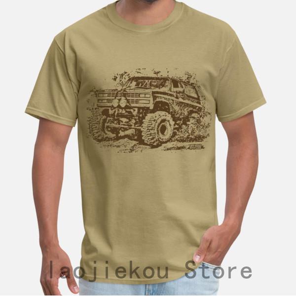 2019 Summer Funny Print Hombres camiseta Mujeres Cool Camisetas chevy blazer mud truck camisetas Unisex Nueva camiseta de moda