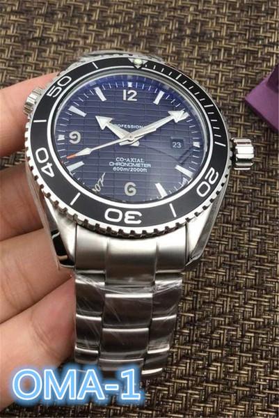 2019 Relojes de lujo para hombre de lujo Relojes de pulsera de movimiento mecánico automático de 45 mm Reloj de acero inoxidable 316 mejor regalo